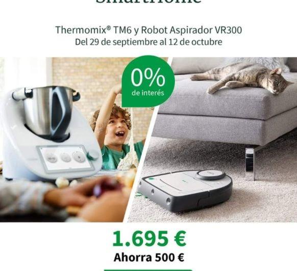 EDICIÓN SMART HOME (Thermomix® TM6+ ROBOT ASPIRADOR VR300)