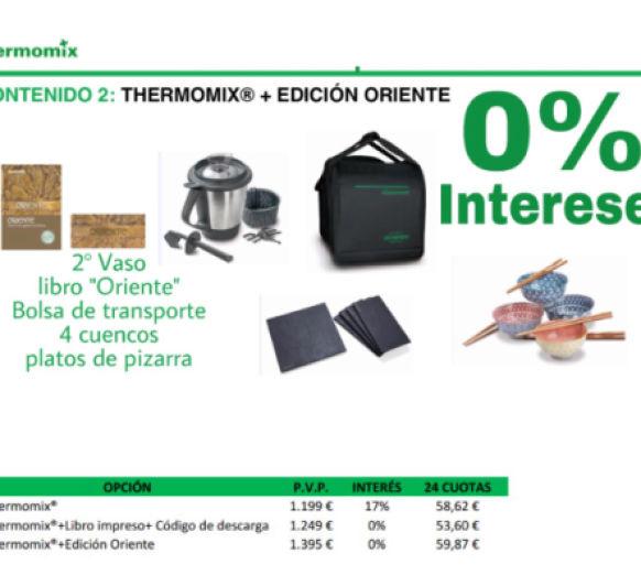 EDICION ORIENTE 0% INTERES